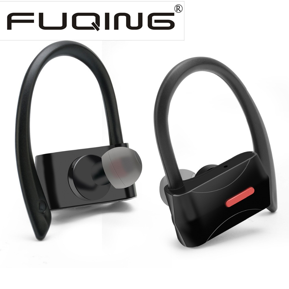 New FuQing T02 Earphone True Wireless in Ear Earbuds with Charging box for iPhone 7 7Plus iPhone 8<br>