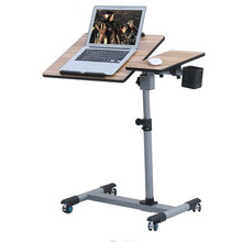 Ya Qi resistant notebook desk 360 degrees rotation lazy bedside lifting comter table FREE SHIPPING