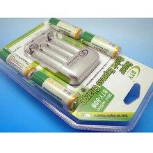 Universal AA AAA Standard Battery Charger 4 Slots NiMH NiCD Charger EU US Brazil Plug +4*3000mah AA Rechargeable NIMH Battery