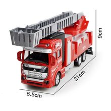 Leading Star 1:48 Push and Go Friction Powered Alloy ABS Metal Car Model Trucks Toy Diecast Vehicle Birthday Toys For Children