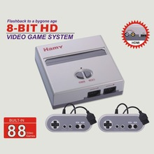 HAMY NES CLASSIC EDITION Video Game console with two controllers with 72P solt for NES game cartridge with HD function 720DPI