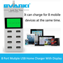 [Bvanki]100Pcs/Lot China Supplier Design Cheap New Fast Charging US,EU,UK Plus Plastic Mobile Home Charger For Cell Phone Tablet