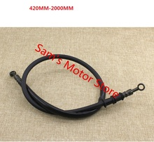 400-2200MM Stainless Steel Racing Motorcycle Hydraulic Brake Hose Line Cable Pipe(China)
