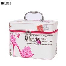 Professional Cosmetic Case Portable Travel Cosmetics Organizer Boxes & Storage Brushes Necessities Beauty Skin Care Packs