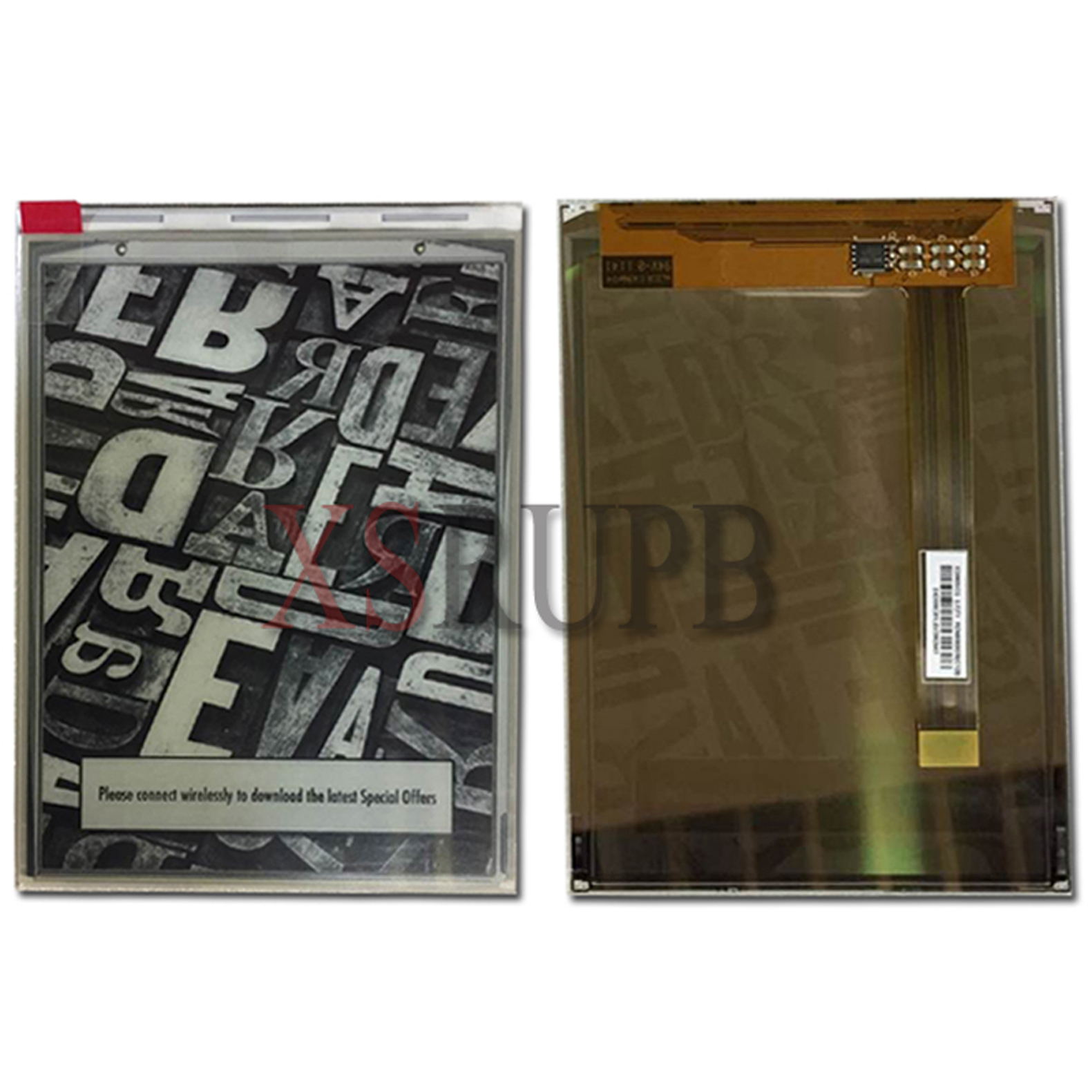 Original E-ink LCD Screen For PocketBook basic 2 614 Ebook e-Readers LCD Display Replacement<br>