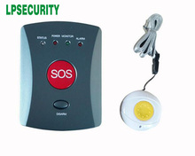GSM burglar emergency personal alarm/ elderly care alarm/Older SOS help button both with wearable+watchband kit(China)