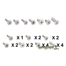 Replacement Part Full Set 17PCS Screw Screws For Nintendo Wii Console Controller(China)