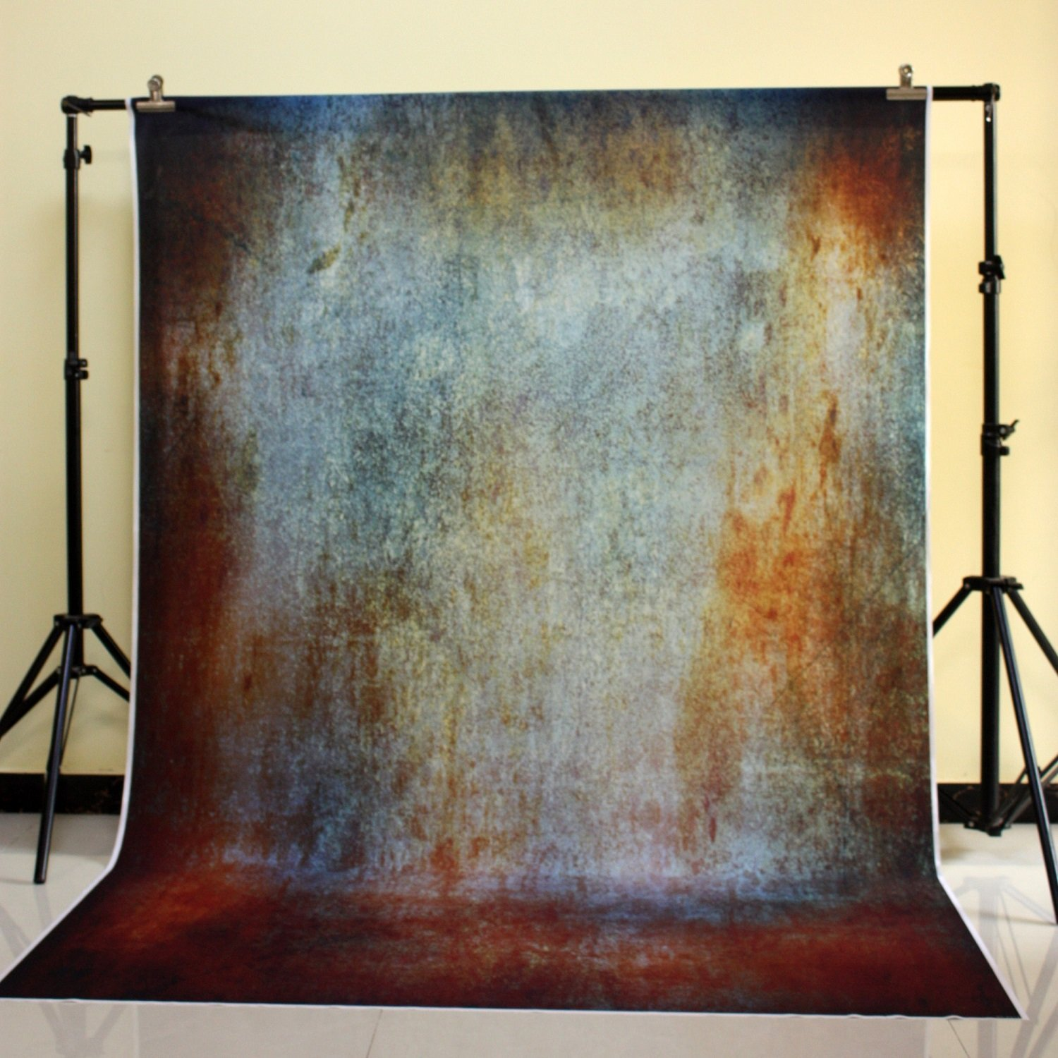 150x220cm Cotton Polyester Dark Deep Color Background Christmas Party Backdrop Children Photo Backdrop Rusty wall XT-5114<br>