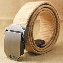 Hot Men Canvas Belt Military Equipment Cinturon Western Strap Men'S Belts Luxury For Men Tactical Brand Cintos(China)