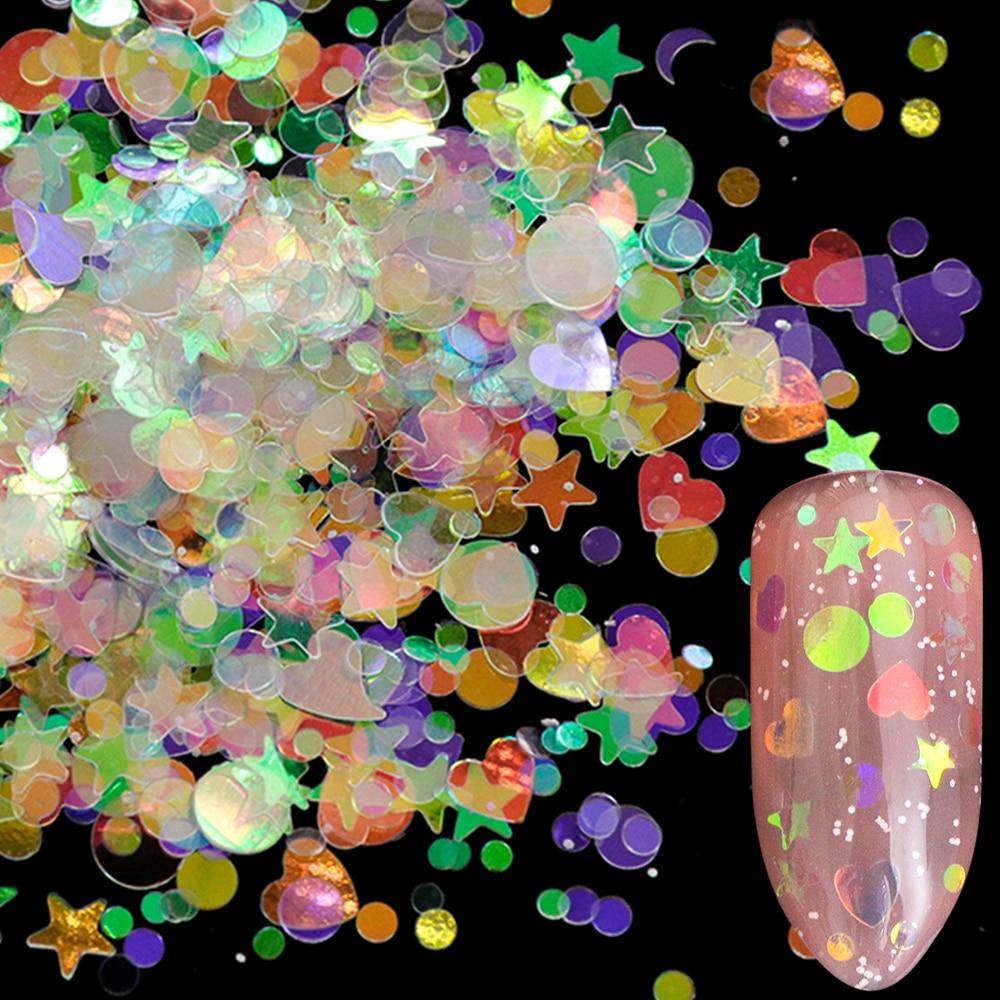 AB Nail Glitter Flakes2