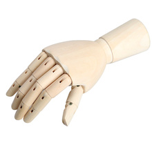 186cm Wooden Artist Articulated Right Hand Model Gift Art Alternatives SKETCH Hand Flexible Decoration Decoracao