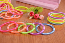 Fashion flexible spiral spring wire telephone line hair ring bracelet women accessories wholesales