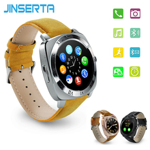 JINSERTA X3 Mp3 Player Bluetooth Smart Watch Pedometer Fitness Clock Camera SIM Card Relogio Masculino for Android Watchphone(China)