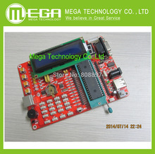 !!! learning board PIC microcontroller experiment board PIC microcontroller development board 16F877A video tutorials