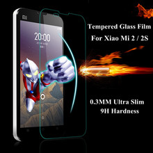 0.3mm 9H Tempered Glass Protector Toughened film For Xiaomi M2 M2s Mi2 Mi2s MI M 2 2S Screen Protector Protective Guard