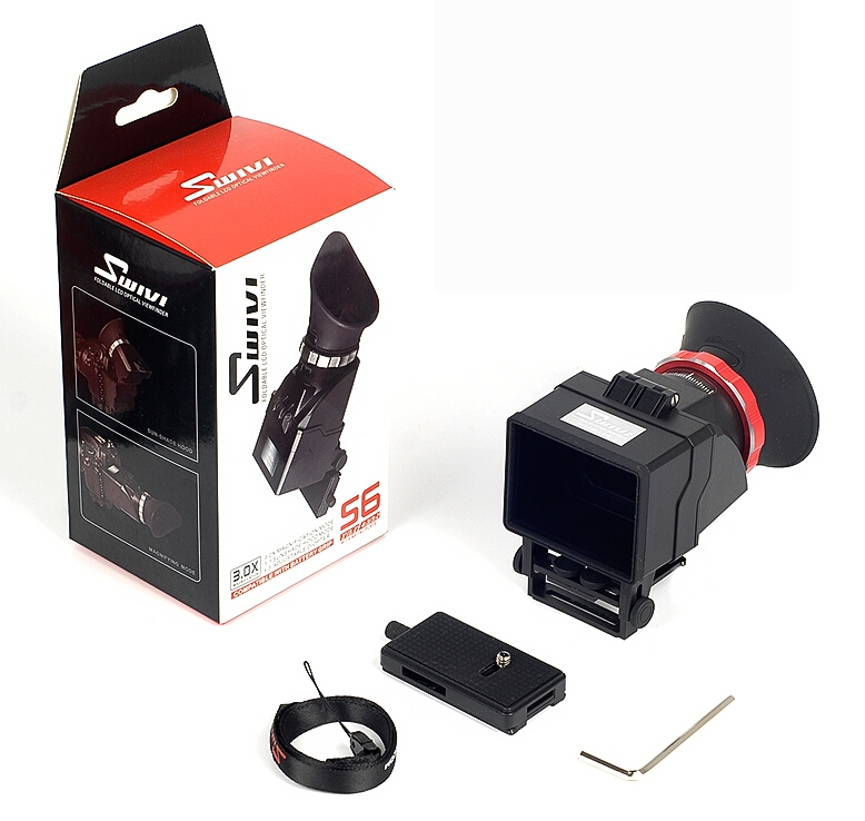 GGS Swivi Professional 3X Foldable Viewfinder Loupe S6 for 3-3.2 LCD 4:3-3:2 HD Video on DSLR Camera<br><br>Aliexpress
