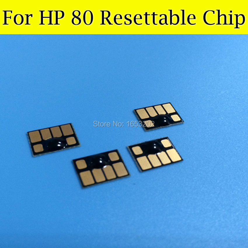 2 Sets HP80 Resettable Cartridge Chip 4847 For HP Designjet 1050 1055 1050ps Printer<br><br>Aliexpress