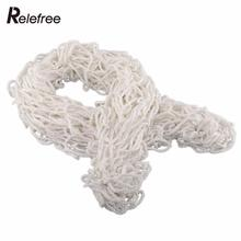 Relefree 1.2mx1.5m Football Soccer Goal Nets For Training Practice Match Useful White Safety(China)