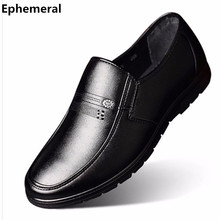 2017 High Quality Men Brand new Sequined Larger size 38-48 Genuine Real Leather Designer Office Career Business Man shoes Black(China)