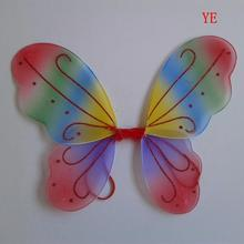 1PC Kids Girl Princess Fairy Butterfly Wings Halloween Party Club Decor 13 Colors