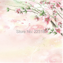 can customized art Large mural 3D furniture home decorative wallpaper House Ornamentation decor TV wall stickers Chinese style(China)