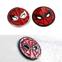 Spider Man Spiderman Body Badge 3D Sticker Metal Auto Emblem Volkswagen BMW Ford Toyota Audi Honda Renault Opel Car-styling - Cyberday Parts Co.,Ltd. store