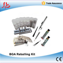 Freeshipping for Laptop 139 pcs /set Bga Reballing Stencil Template Kit and free Reball Station and solder balls,BGA accessories
