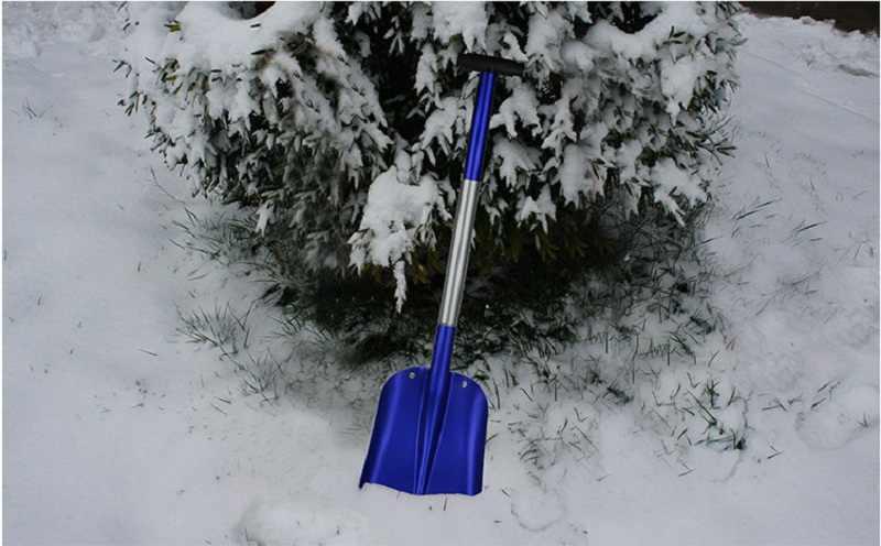 Скрепер волокуша усиленный для ручной уборки снега