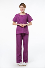 2015 OEM hospital scrub sets uniforme medico medical nurse clothing factory direct sale(China)