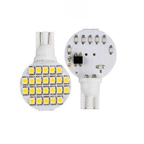 Likebuying 20x T10 W5W 24 SMD LED Warm White RV Landscaping Spot Spotlight Light Lamp Bulb<br><br>Aliexpress