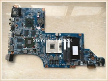 For HP DV7 DV7-4000 series 615308-001 laptop motherboard DA0LX6MB6F2 REV:F mainboard 100% tested Free Shipping