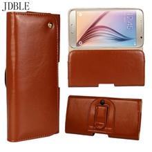 JDBLE For Oneplus 5 / Fives Genuine Leather Magnetic Belt Clip Holster Pouch Phone Case For Oneplus 5 / Fives /3 Mobile JS0491(China)
