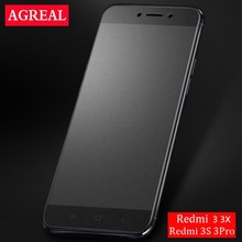 9H Frosted Tempered Glass Film For Xiaomi Redmi 3 Pro Matte Screen Protector 5.0inch Redmi 3s No Finger print Glass Protective()