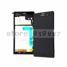 LCD display screen For Sony Xperia Z3 Dual D6633 D6683 lcd with touch digitizer glass screen +/- frame front for dual SIM phone