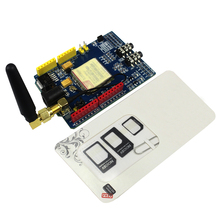 SIM900 GPRS/GSM Shield Development Board Quad-Band Module for arduino Compatible