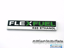 Rhino Tuning Green Flex Fuel E85 Ethanol Car Emblem Nameplate Badge for Escalade Silverado Sierra 308