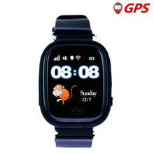 GPS Q90 Smart bébé Montre avec Tactile WIFI Emplacement SOS Appel podomètre Tracker pour Kid Safe Anti-Perdu Moniteur Dispositif PK Q528 Q360(China)