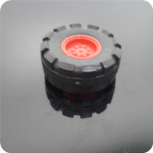 42mm Model Car Small Rubber Wheels DIY model RC Four-wheel wheel, Technology small production accessories tires(China)