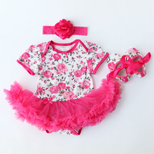 Newborn Baby Girl Rompers Clothing Dresses Jumpsuit Bebes Dress Clothes Cotton Romper Next Bebe Summer Cotton New Born RP7 Kids