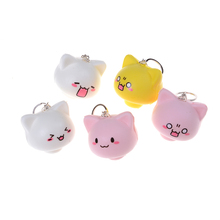 mushroom Key Chains HandBag Keychain Squishy Cream Scented Slow Rising Toy Cell Phone Charms Pendant Strap(China)