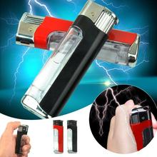 Peradix Electric Shock Lighter Toy Utility Gadget Joke Trick Christmas Gift NEW(China)