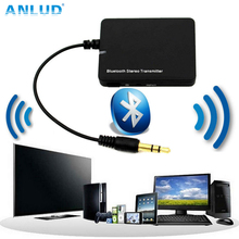 ANLUD Mini Bluetooth Wireless Transmitter Music Stereo Dongle Audio Adapter 3.5mm Audio A2DP for iPod TV Mp3 Mp4 PC Transmitters(China)