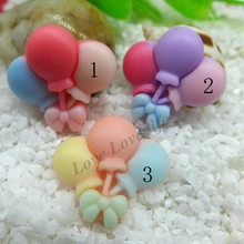 22*23MM Kawaii balloon, flatback resin cabochon for phone deco  hair bow diy  Scrapbook Embellishment Free shipping