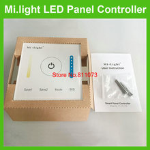 Freeshipping+Milight LED Controller Touch Switch Panel Brightness and Color Temperature LED Dimmer For LED Strip, Panel Light