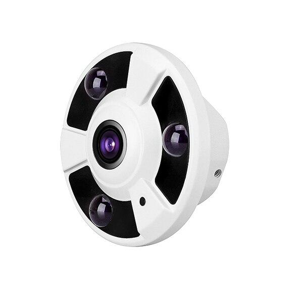 AHD CCTV Camera 360 Degree Wide Angle Fisheye Panoramic Camera  AHD Infrared Surveillance Camera Security Dome Camera<br>