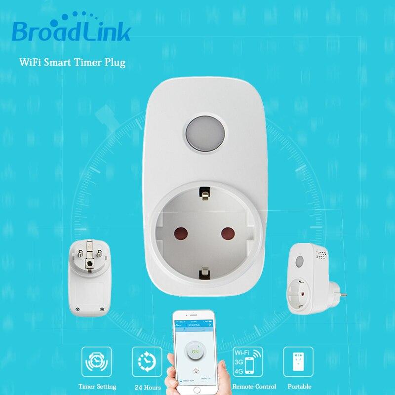 Broadlink SP3 EU SP Mini/Contros Smart Wireless WiFi Socket 16A 2200w remote Power Supply Plug IOS Android Remote Control<br><br>Aliexpress