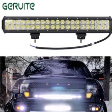 Hot Sale ! CE ROHS Approved Waterproof 10100lms 126W led Bar Offroad Driving Light led Light Bar Work Light 12V Wholesale(China)