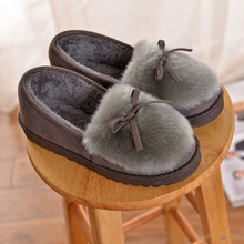 Lovely Floor Soft Home Slippers Cotton Warm Winter Slippers women slippers Casual indoor slippers sh050008(China)