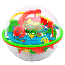 for ages 5+red 100 off magic magic Barriers 3D Labyrinth Magic Intellect Ball Balance Maze Perplexus Puzzle Toy Pelota ag21 P30