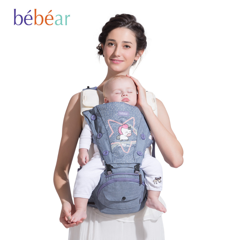 0-36 Months Ergonomic 360 Baby Carrier Cute Unicorn Multifunctional Babies Hipseat Toddler Backpack Portabebe Infant Sling<br><br>Aliexpress